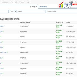 Как и где купить или продать биткоин без смс и регистрации =)