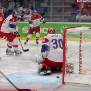 Хоккей Россия Чехия счет 3:2