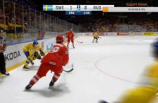 Россия Швеция счет хоккей 7:4
