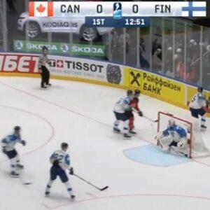 Хоккей Канада Финляндия счет 1:3