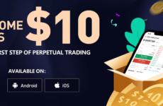 Бонус BitForex: $10 в BTC