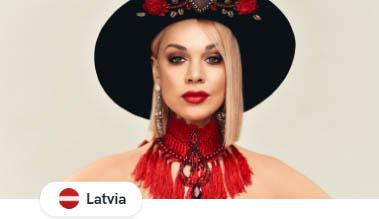 Все участники Евровидения 2020: Латвия Samanta Tīna