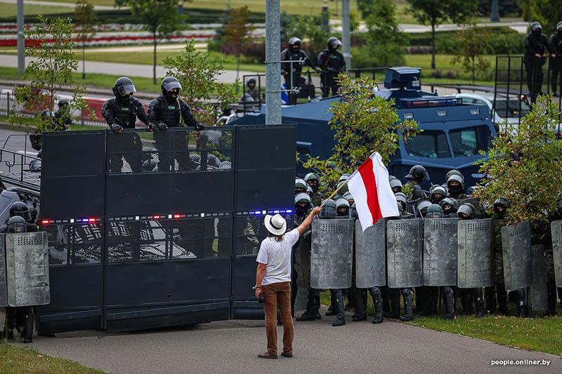 атака на дворец Независимости