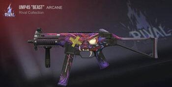 оружие Standoff 2 UMP45