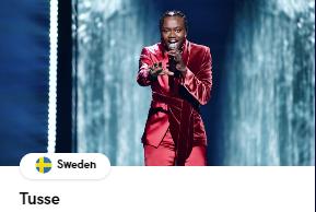 Швеция Евровидение 2021